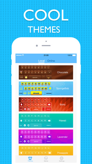 Cool Keyboard for iOS 8
