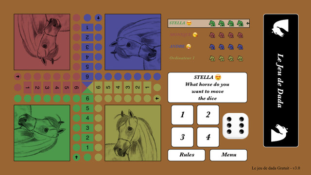 French Horse Parchis Free