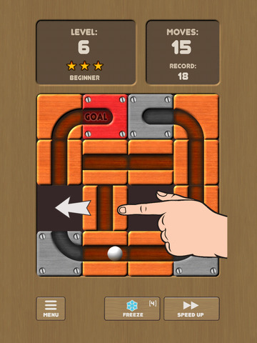 Unroll Me - unblock the slots screenshot