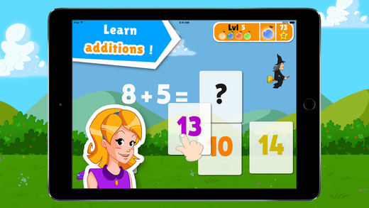 Learning Addition - Plume's School