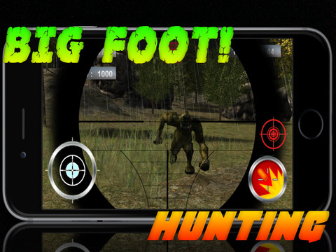 Sasquatch Assassin Snipe-r Shoot-er - Big-Foot Mountain Huntingscreeshot 1