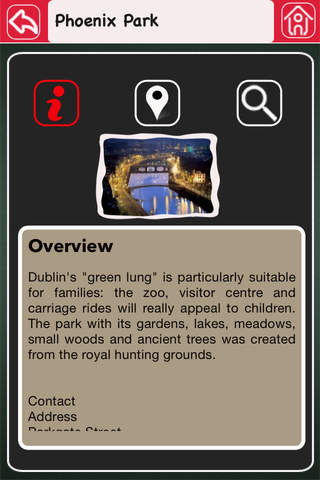 Dublin Offline Map Tourism Guide screenshot 4