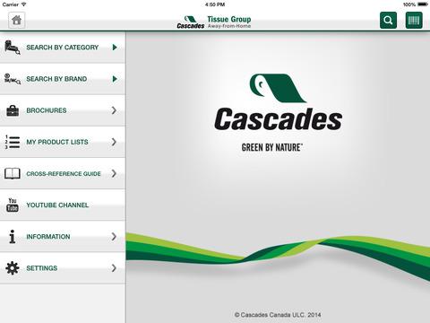 Cascades AFH for iPad