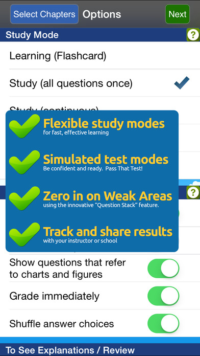 GroundSchool FAA Knowledge Test Prep - Aviation Mechanic Powerplant iPhone Screenshot 2
