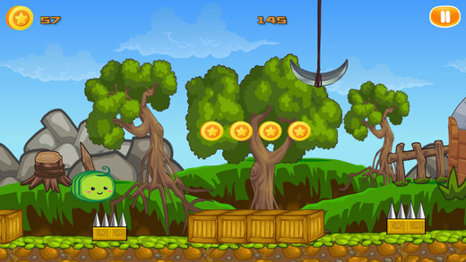 Bouncy Fruits PRO - Full Fruity Flavor Version