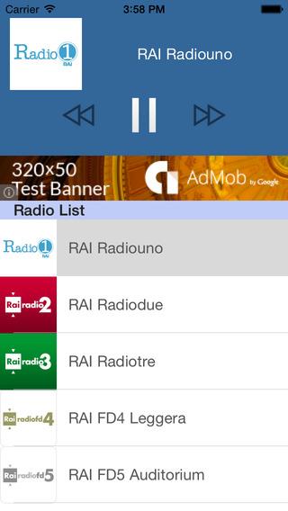 Radio Italia FM - Tutto Radio FM italiano on Mobile 100 gratuito