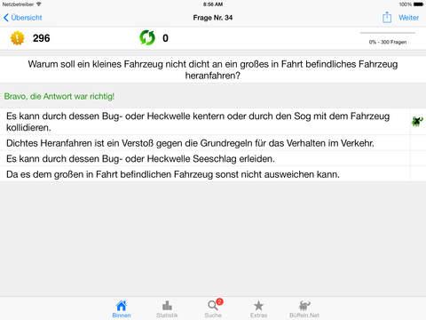 Sportbootführerschein-Binnen iPad Screenshot 2