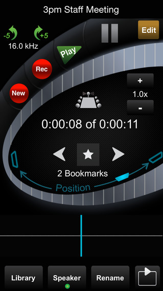 HT Professional Recorder iPhone Screenshot 2
