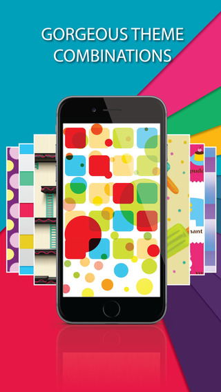 Screenpapers ™ Pro - HD Wallpapers Backgrounds gallery of blurred designs bokeh color for iPhone 6 6