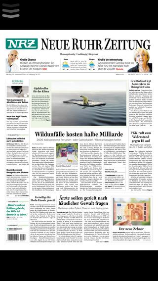 NRZ Zeitungskiosk E-Paper