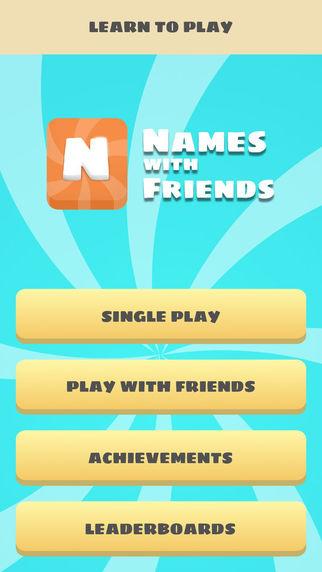NamesWithFriends