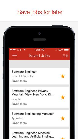 商業 tech search by dice 癮科技app