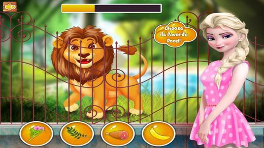 Princess At The Zoo