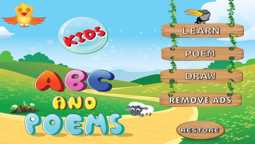 Kids ABCD Poems