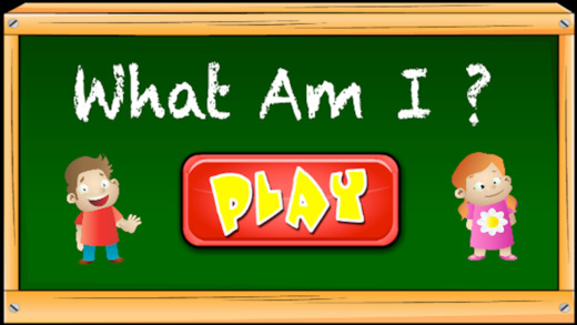What Am I - Kids Game