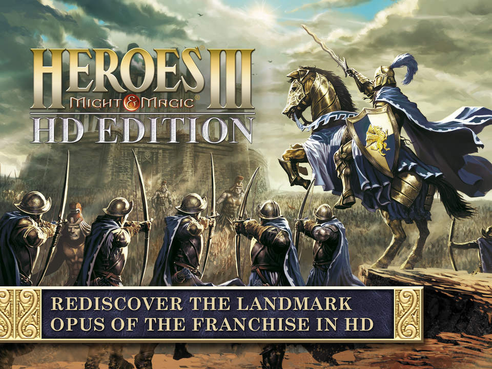 'Heroes of Might & Magic III HD Edition' for iPad Hits the App Store (via @toucharcade)