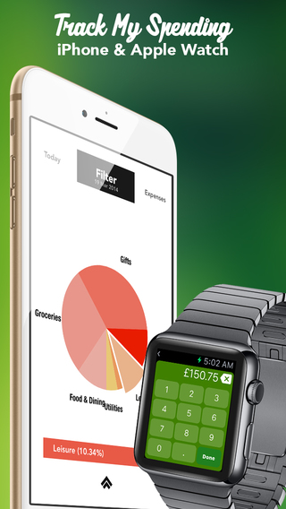 Track My Spending 2.0 - Personal finance expense tracker helping you manage bills salary and log exp