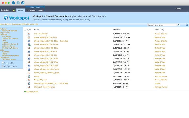 Workspot Screenshot - 4