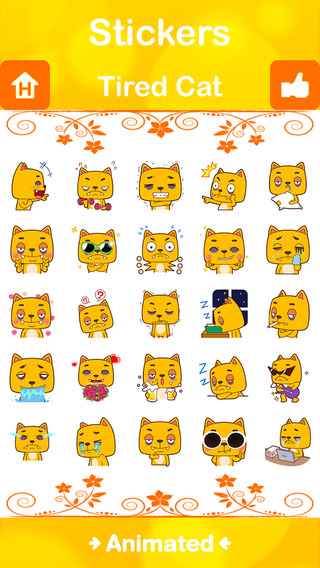 Stickers Plus for Facebook Messenger WeChat Viber