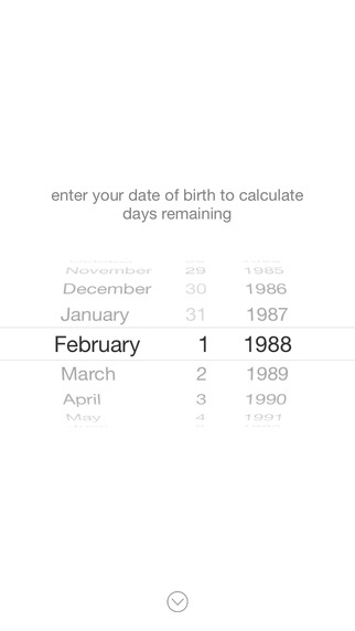 Days - Life's Countdown