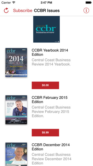 Central Coast Business Review Magazine