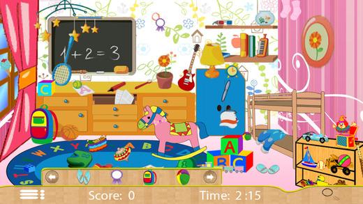 Kids House Fun - Home Hidden Objects Game