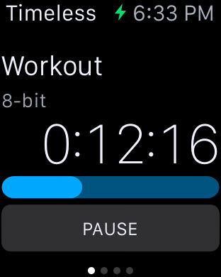 Timeless: The Interval Timer and Stopwatch for workouts Screenshots