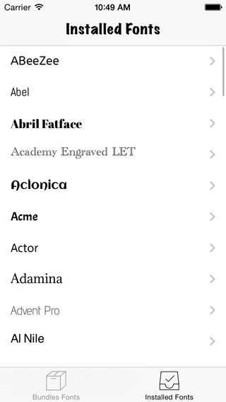 BytaFonts 8 - Install AnyFonts for iOS 8