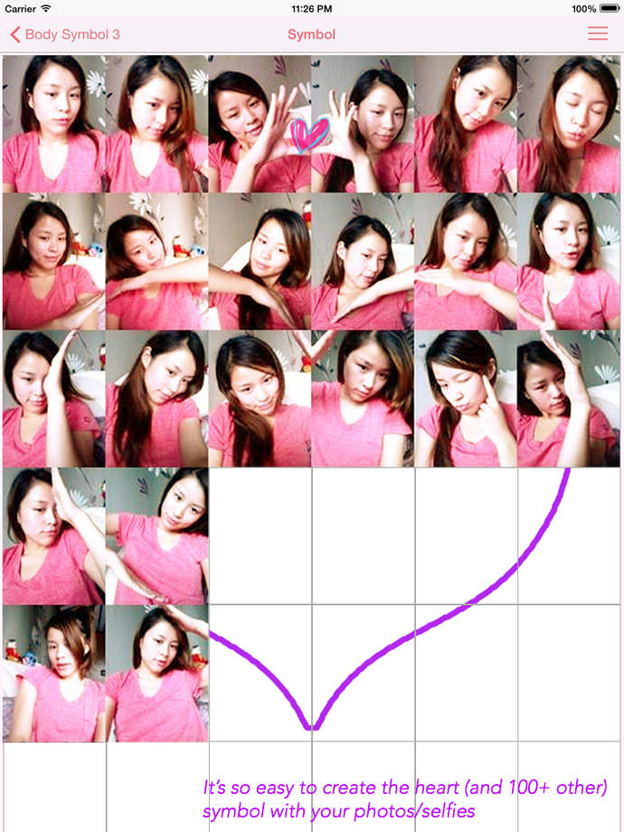 Body Symbol The Romantic Heart Photo Booth - iPhone Mobile Analytics and App Store Data
