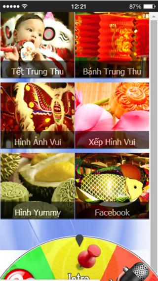 Tet Trung Thu - Cach lam Banh - Nhac Thieu Nhi - Loi Chuc SMS Card Vui