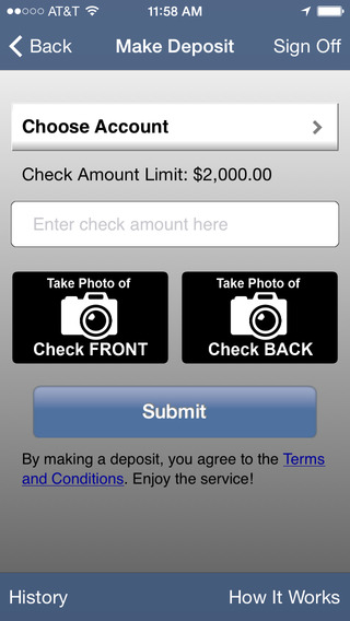 Members Choice CU Mobile Banking (Houston) iPhone Screenshot 4