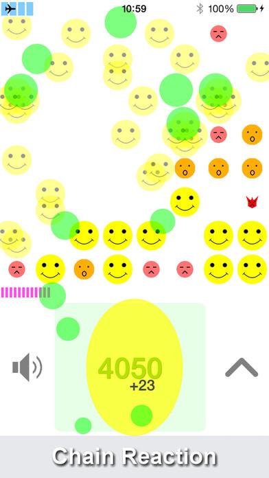 Chain Reaction Smile iPhone Screenshot 1