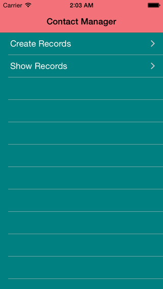 Contact Manager App