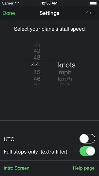 Screenshots for Flight Time