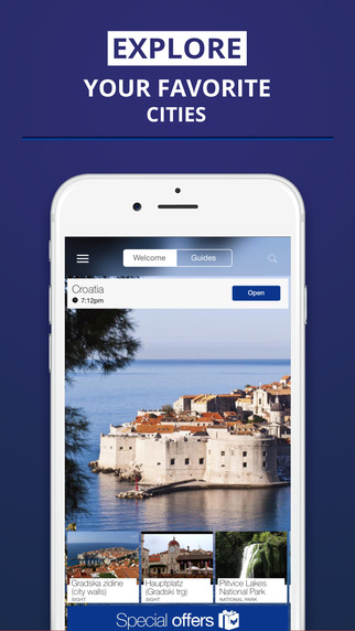 Croatia - your travel guide with offline maps from tripwolf guide for sights tours and hotels in Dub