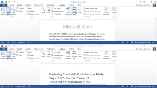 Easy to Master Microsoft Word Edition