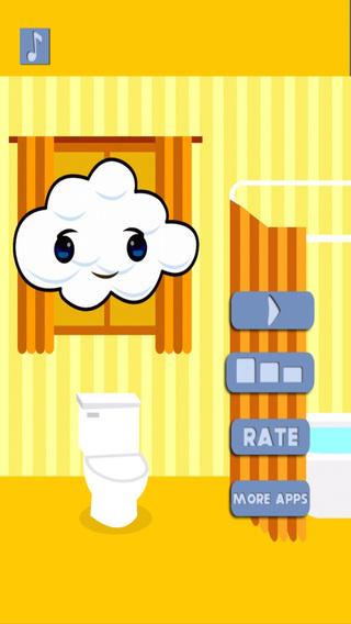 A Amazing Soap-Suds Toilet Paper Tap Jumper - Survival Bounce Flush Escape Game