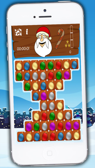 Christmas seasons Santa crush - funny bubble game with xmas balls for kids and adults