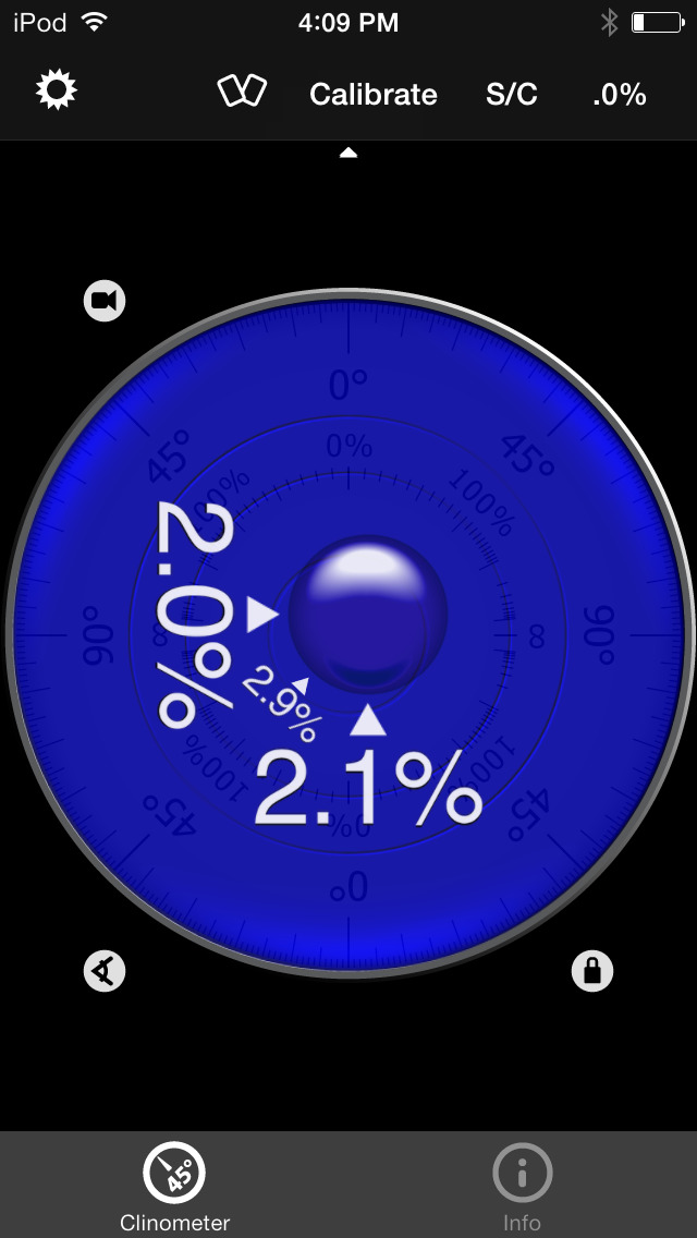 how to use a clinometer app
