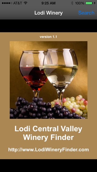 Lodi Central Valley Winery Finder