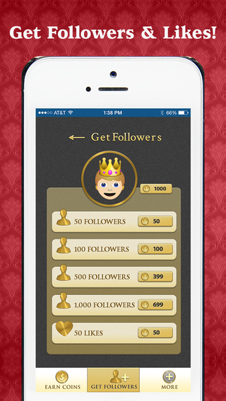 FollowKing - Get More Followers Likes on Instagram