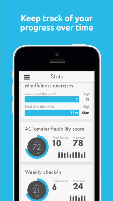 ACT Companion: The Happiness Trap App Apps free for iPhone/iPad screenshot