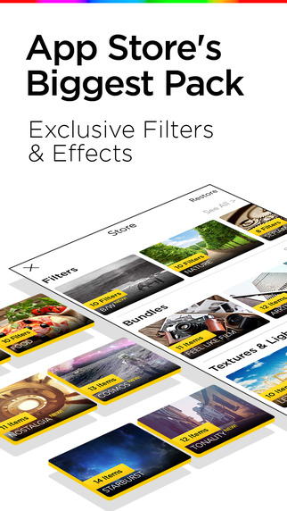 Filterra – 照片编辑器[iPhone]丨反斗限免