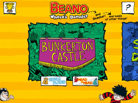 Where's Dennis and Gnasher : The Beano Search-and-Find