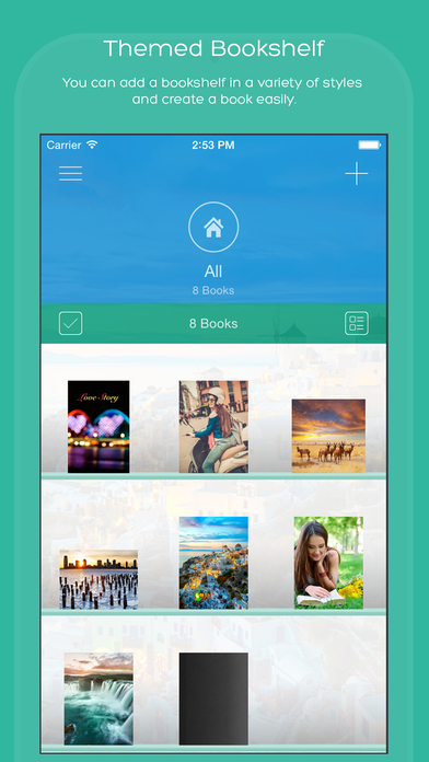 how to create a photo book on ipad