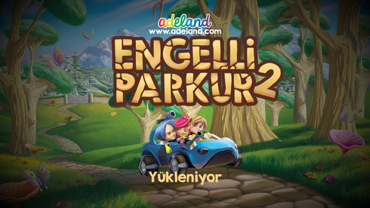Adeland Engelli Parkur 2