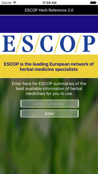 ESCOP Herb Reference