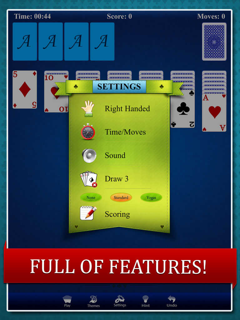Patience Solitaire for money do you have what it takes to win