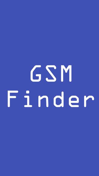 GSM Finder