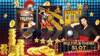 Screenshot 1 Казино Игровые автоматы — ацтеков Золото, Ахилл Treasure Быстрый Hit и высокий бонус Выплаты